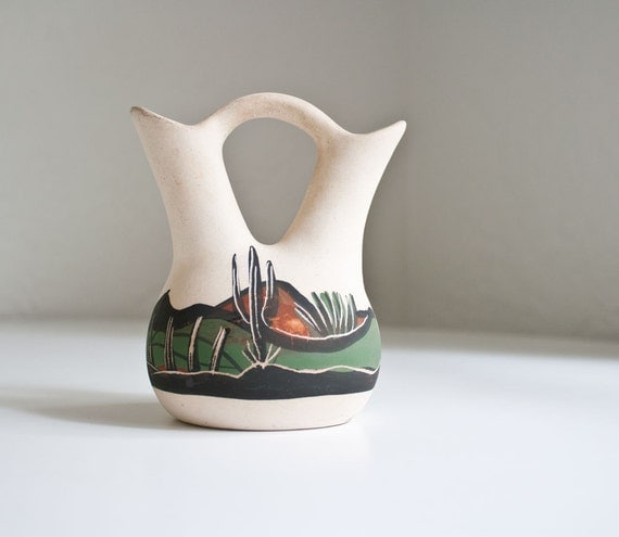 Vintage Native American Pueblo Pottery
