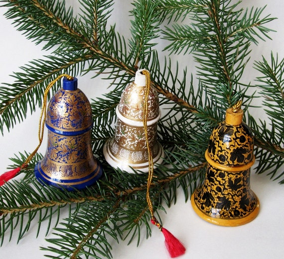Items Similar To Papier Mache Christmas Ornaments