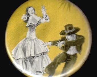 Flamenco Button