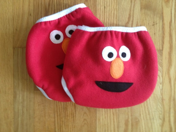 Elmo Side Snapping One Size Fleece Diaper Covers Reserved for Leprice09