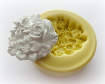 Resin Clay Flower Mold Silicone Soap Wax Fondant Mould