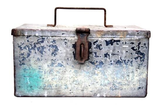 Rustic Metal Box