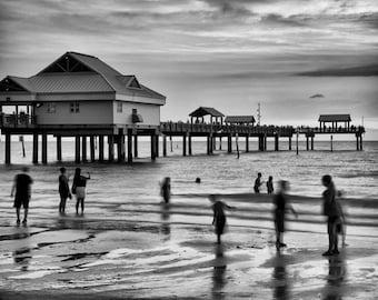 Clearwater Beach Florida Pier - Fine Art Photograph 5x7 8x10 11x14 16x20 24x30