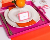 Orange Table Runner