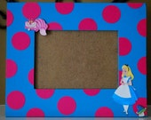 Alice in Wonderland Photo Frame - Coordinates with Party Decor