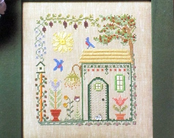 Bluebird Cottage  - An Elizabeth's Design of Speciality Stitches Including Counted Cross Stitch