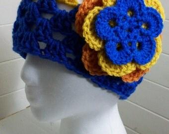Sunrise Flowers Hat