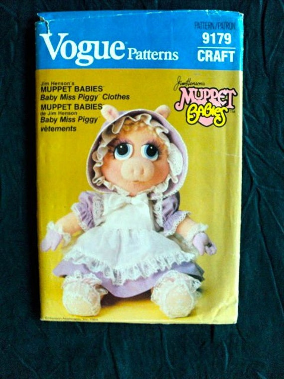 Vintage Muppet Babies Pattern Baby Miss By Docksidedesignsetc