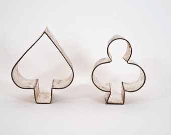 2 Cookie Cutters - Spade and Club