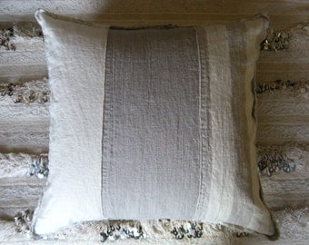 the aimée washed linen pillow cover