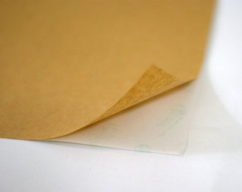 Kraft Paper Labels A4 size 5 sheets for DIY / Handmade Stickers 210 x 297 mm