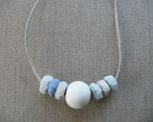 Big Faceted bead Necklace SALE
