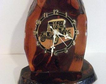 Vintage  Model A Car Clock