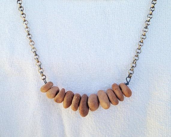 Sedona Statement Necklace - Sedona red rock jewelry chunky necklace