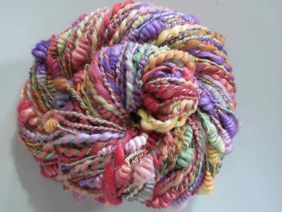 Handspun Art yarn - Cru