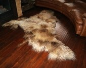 WINTER SALE (REGULAR 1300) - Extra Thick Felt Eco Natural Wool Rug