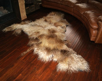 SALE (REGULAR 1300USD) - Extra Thick Felt Eco Natural Wool Rug