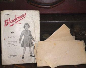 1950's Blackmore Sewing Pattern