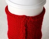 Red Seam Coffee Sleeve