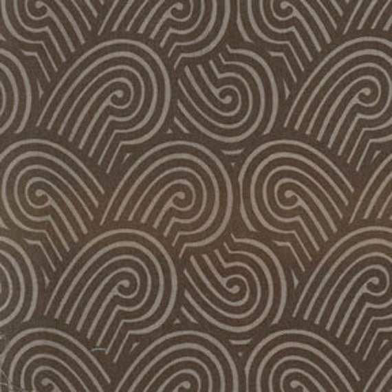 Sale - Michael Miller Fabric - Half Yard Zen Garden in Espresso