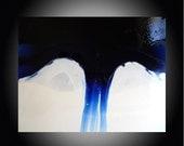 Large Gorgeous Painting Modern Fine Art -Original Abstract Acrylic Unusual Liquid Art Technique  SALE PRICE