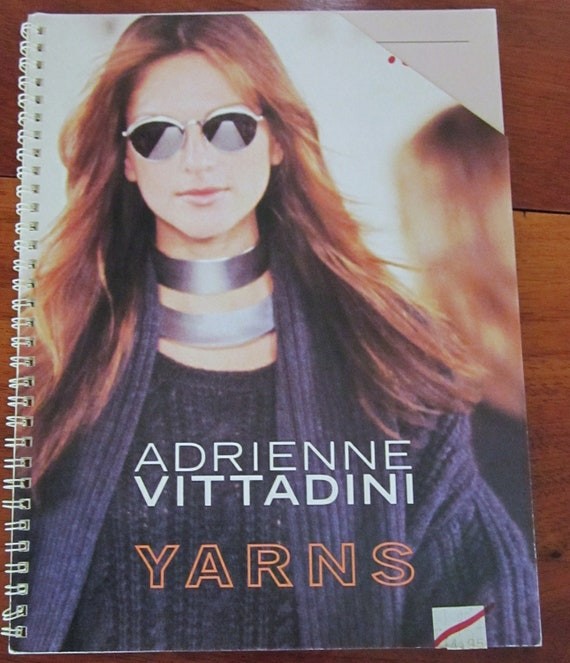 Adrienne Vittadini Knitting Pattern Books : Adrienne Vittadini Yarn Hand Knitting Pattern book by SloCrafty