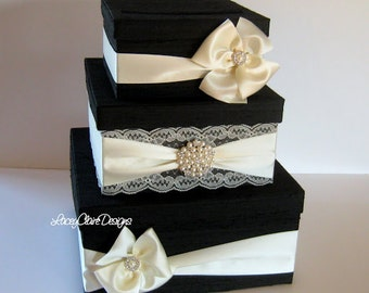 Card Box for wedding, Money Box Gift Card Box Holder Custom Made to Order