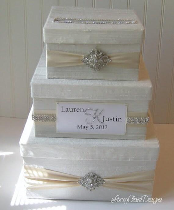 Gift Card Boxes For Weddings: Wedding Gift Box Bling Card Box Rhinestone Money Holder