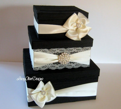 Wedding Gift Box Etsy : Card Box for wedding Money Box Gift Card Box Holder Custom