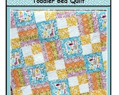 PDF Quilt Pattern Toddle Time Toddler Bed Quilt Carlene Westberg Designs