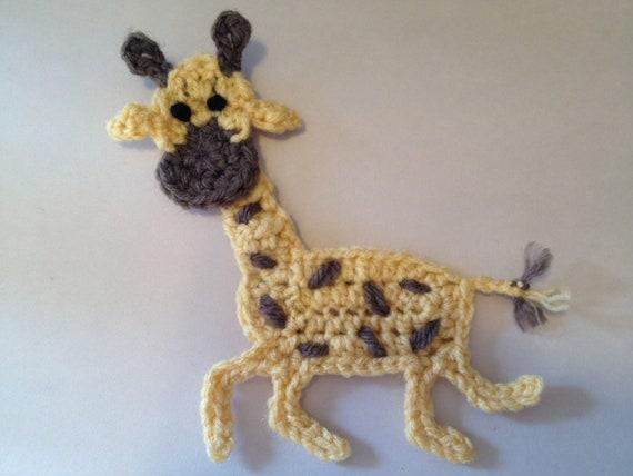 Crochet Pattern - Giraffe Applique