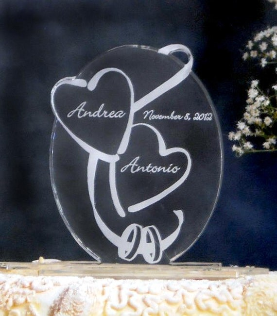 Etched Cake Toppers Uk