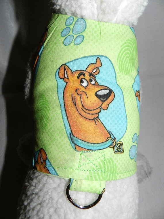 Scooby Dooby Doo Detective Harness Vest. Perfect Item for your Cat, Dog or Ferret. All Items Are Custom Made For Your Pet.