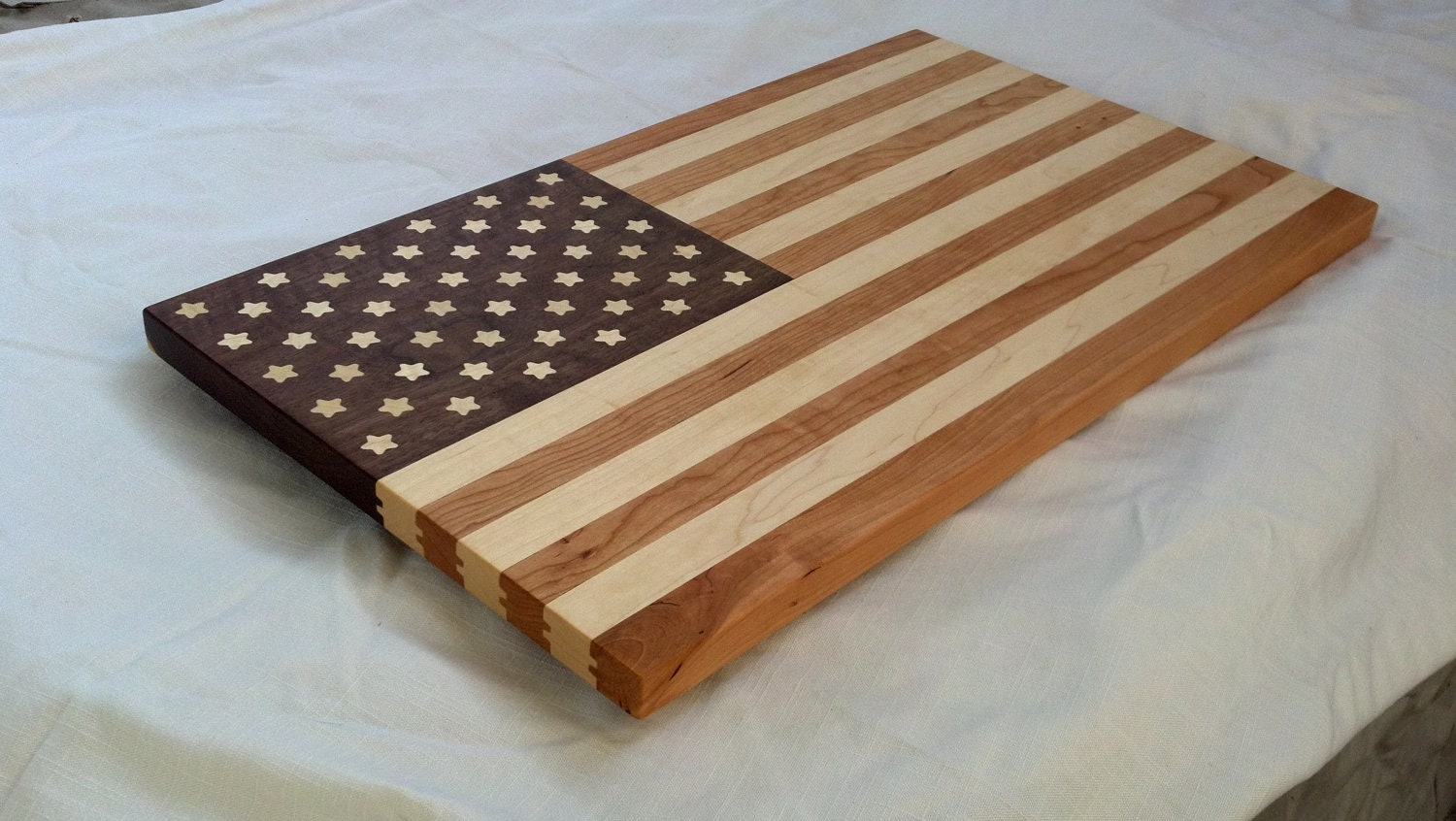 Usa flag cutting board for Cutting board designs
