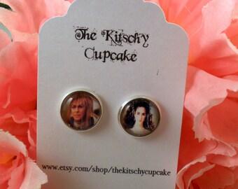 Labyrinth earrings