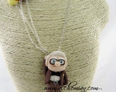 Carl Up Handmade Polymer Clay kawaii necklace