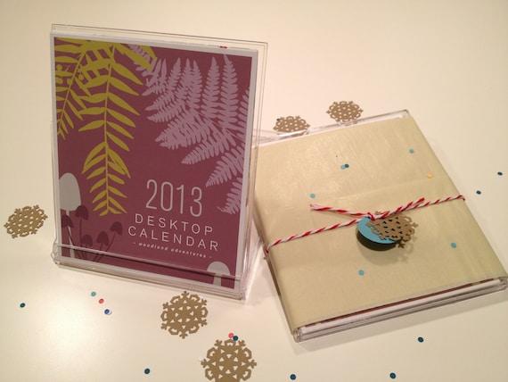 2013 CD Case Desk Calendar