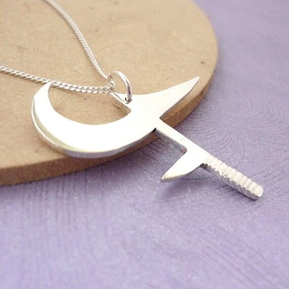 Buffy's Hunga Munga - Handmade Pendant in sterling silver