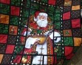Santa's window quilt