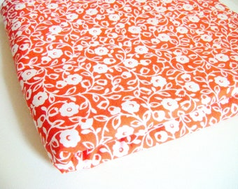 Michael Miller Honey Swirl Orange Fabric, OOP