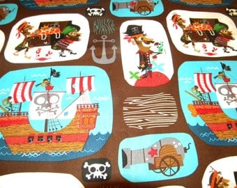 Pirate Kinder Mat Cover  MADE TO ORDER