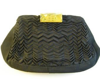 Vintage Bakelite Clasp Clutch
