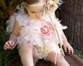 Dainty Girls Soft Lace Petti Romper