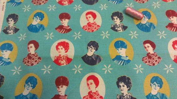 Audrey Hepburn - Rising Star Fabric - 1/2 yard