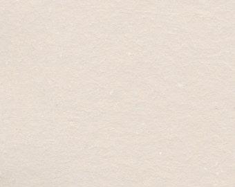 Cream Cotton Handmade Paper 11x14 - Fine Art Paper