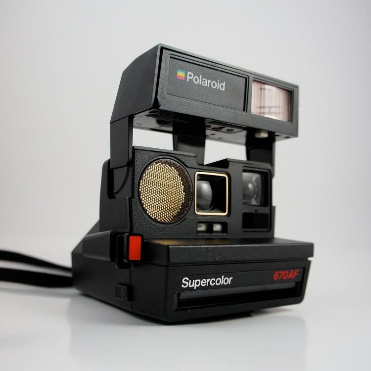 polaroid supercolor 670 af instant camera 600 film by boomvintage. Black Bedroom Furniture Sets. Home Design Ideas