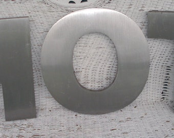 SALE Industrial Metal Letters H O T