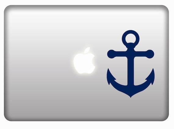 Anchor Mac Decal Stickers Vinyl Laptops Window Car  Bumper Sticker