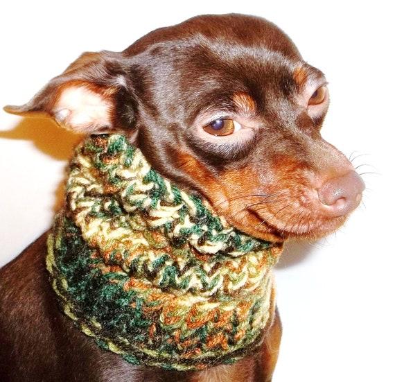 Dog Hoodie Cowl Harvest Knit