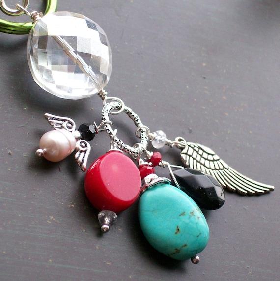 Christmas Angel Pendant Keychain